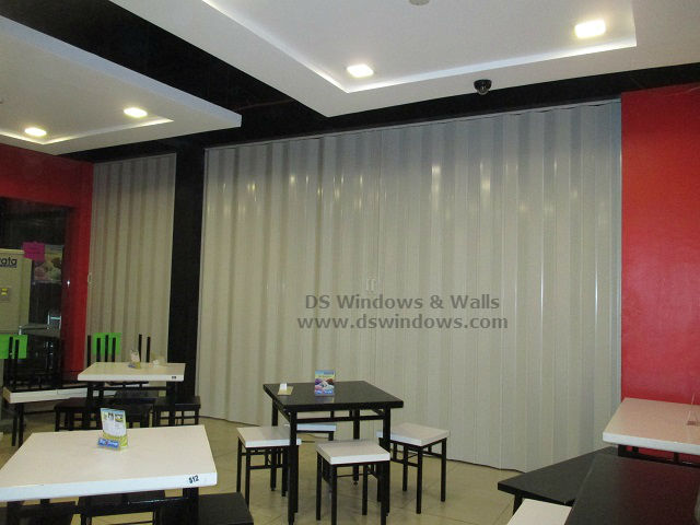 PVC Accordion Door for Restaurant - Malate Manila