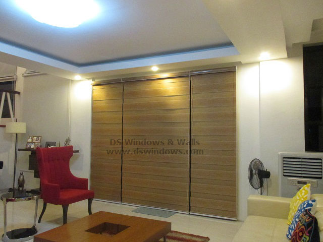 Duo Shade Blinds with Acetate Valance installed at San Juan, Batangas City
