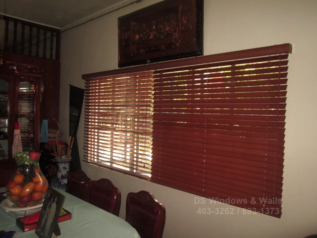 Faux wood blinds for old homes