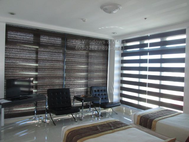 Losa G405 Choco Combi Blinds