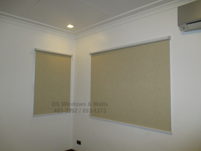 Standard Roller Blinds without Valence