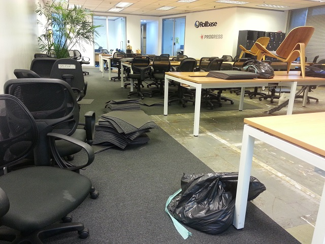 Carpet tile replacement for one of the biggest IT company in the Philippines.
