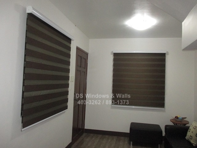 Combi blinds choco color