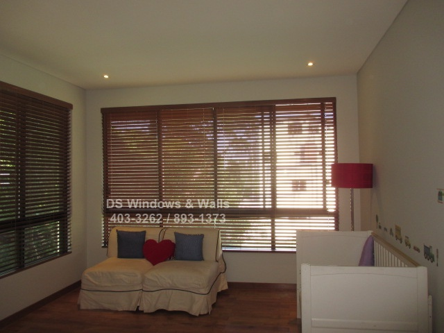 Faux Wood Blinds BGC