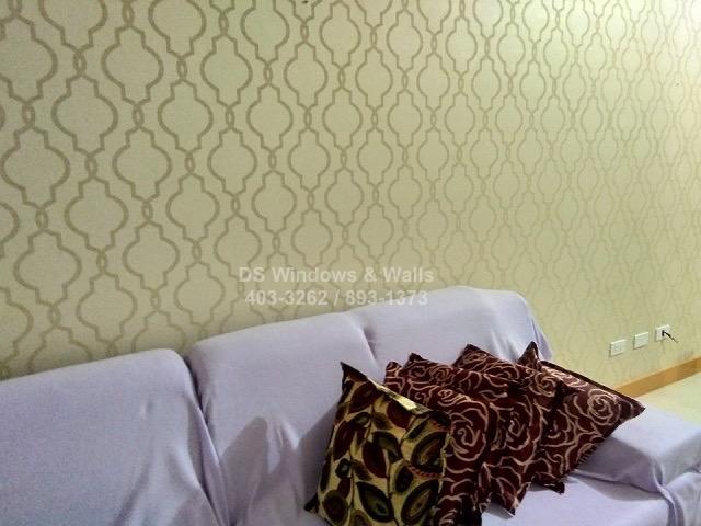 Amethyst wallpaper design